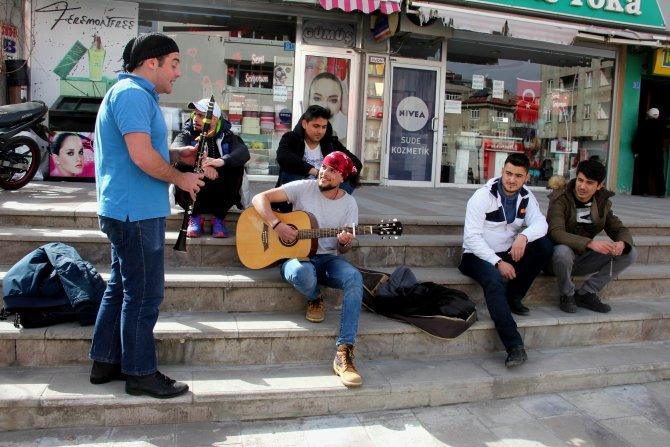 Seydişehir'de sokak konserleri