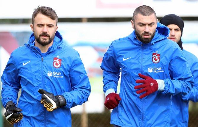 Trabzonspor'da Akhisarspor maçı hazırlıkları