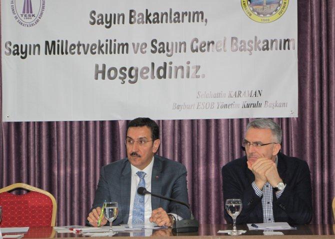 Gümrük ve Ticaret Bakanı Tüfenkci Bayburt'ta