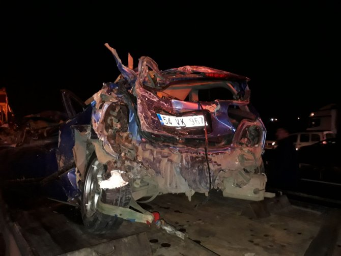 Anadolu Otoyolu'nda zincirleme trafik kazası: 6 yaralı