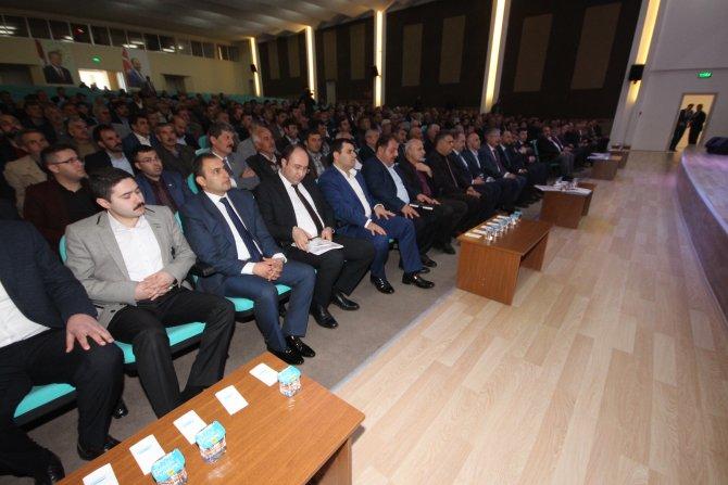 Beyşehir'de 5 ilçenin muhtar ve çiftçileri buluştu