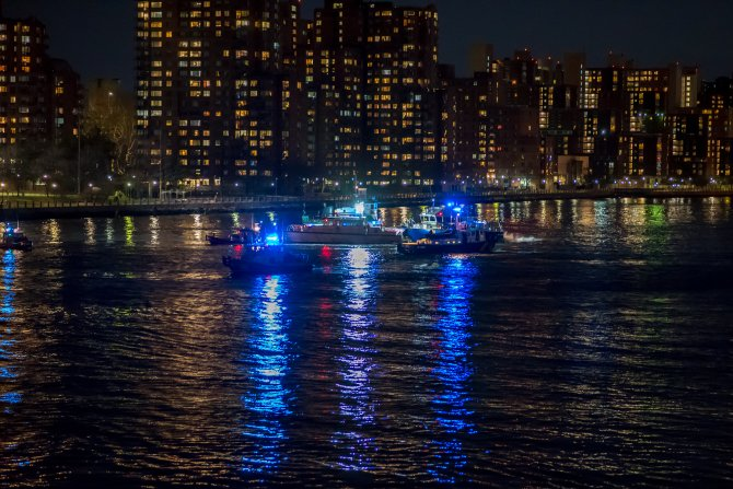 GÜNCELLEME - New York'ta helikopter kazası: 5 ölü