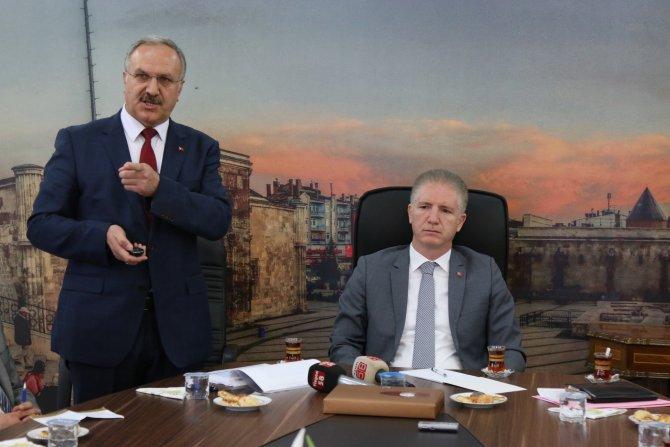 Sivas Valisi Gül eğitim yatırımlarını değerlendirdi
