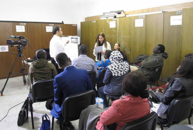 TİKA ve TRT iş birliğinde Güney Sudanlı medya personeline eğitim