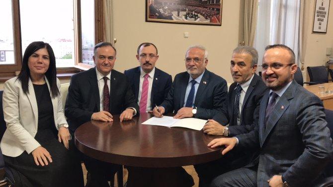 AK Parti ve MHP'nin ortak seçim önergesi