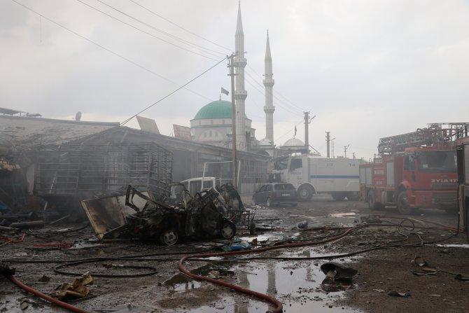 GÜNCELLEME - Iğdır Sanayi Sitesi'nde patlama: 1 ölü, 13 yaralı