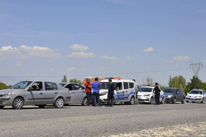 Akşehir'de kaçak sigara operasyonu
