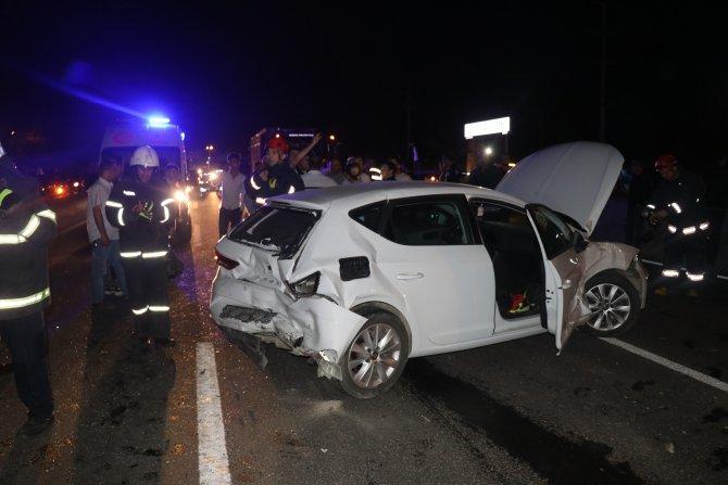 Düzce'de zincirleme trafik kazası: 4 yaralı