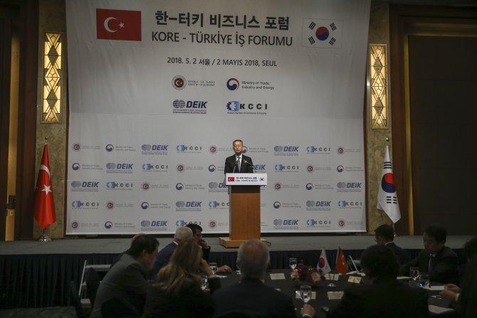 Kore-Türkiye İş Forumu
