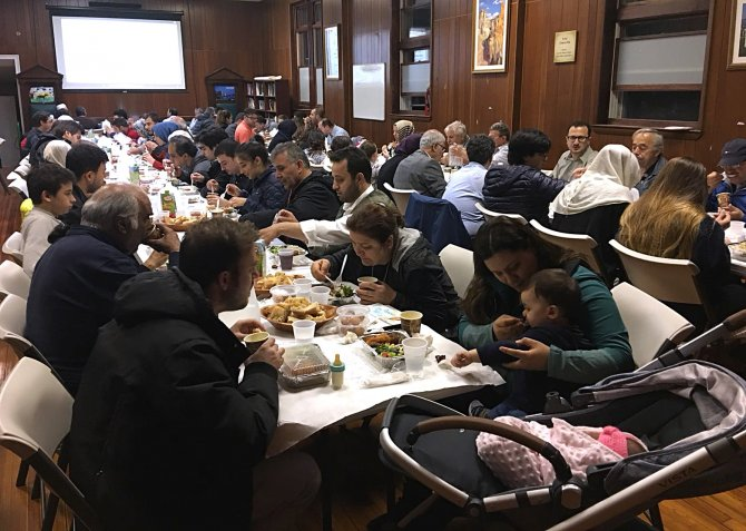 ABD'de ilk iftar