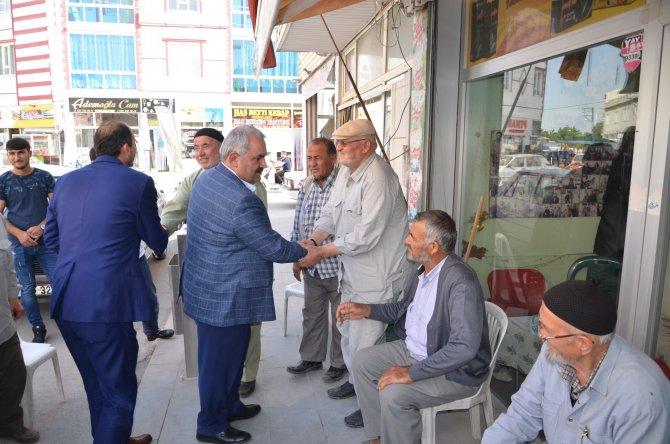 Milletvekili Etyemez'in seçim çalışmaları