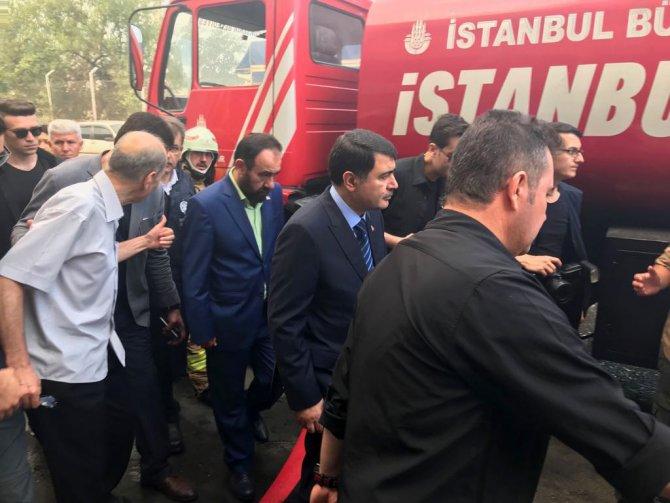 GÜNCELLEME 3- İstanbul'da fabrika yangını