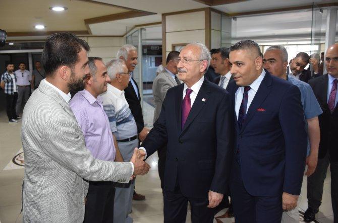 Kılıçdaroğlu Malatya'da iş adamlarına seslendi
