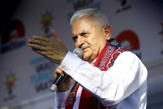 AK Parti'nin Kırıkkale mitingi