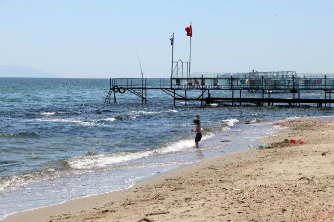 Tekirdağ mavi bayraklı plajlarıyla tatilcileri bekliyor