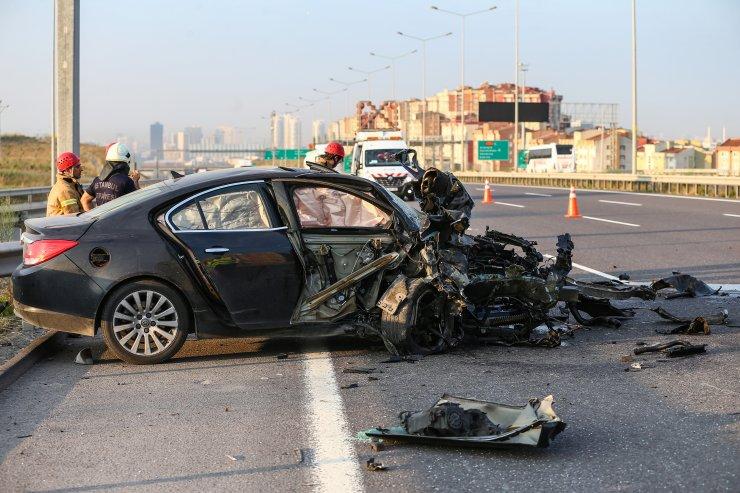 Başakşehir'de trafik kazası: 2 yaralı
