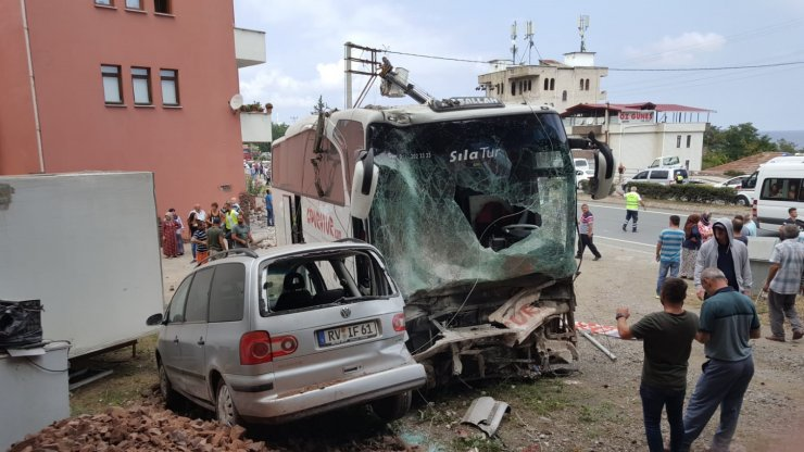 GÜNCELLEME - Trabzon'da trafik kazası