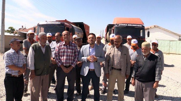 Çumra Belediye Başkanı Mehmet Oğuz'un mahalle ziyaretleri
