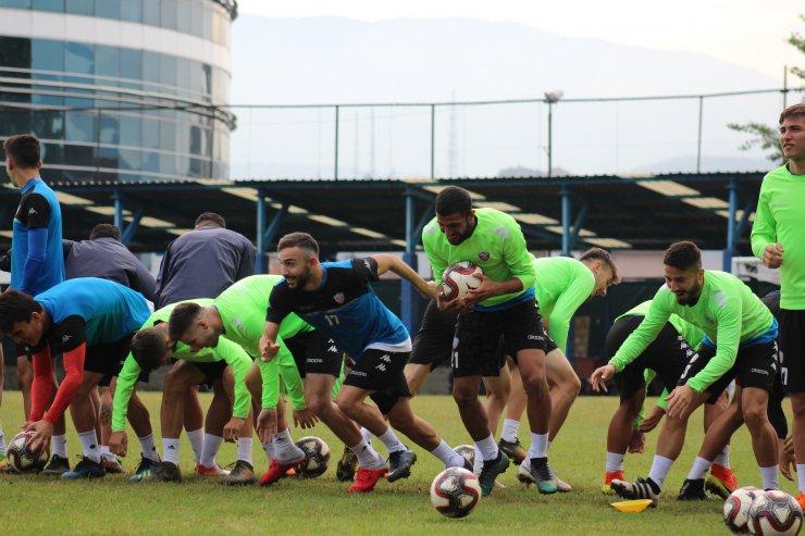 Kardemir Karabükspor'da Osmanlıspor maçı hazırlıkları