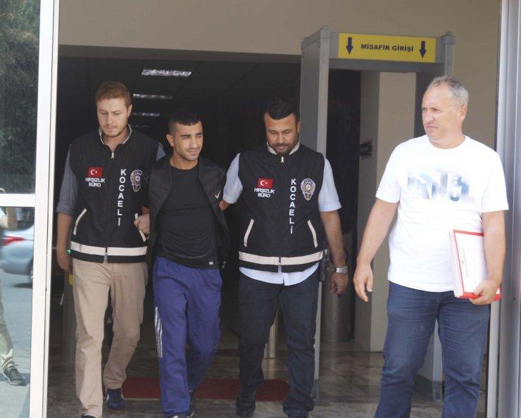 Kocaeli'de iş yerinden hırsızlık iddiası