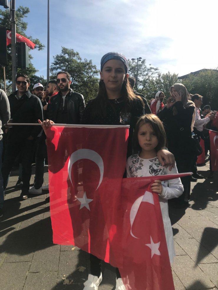 Köln Cumhurbaşkanı Erdoğan'ı bekliyor