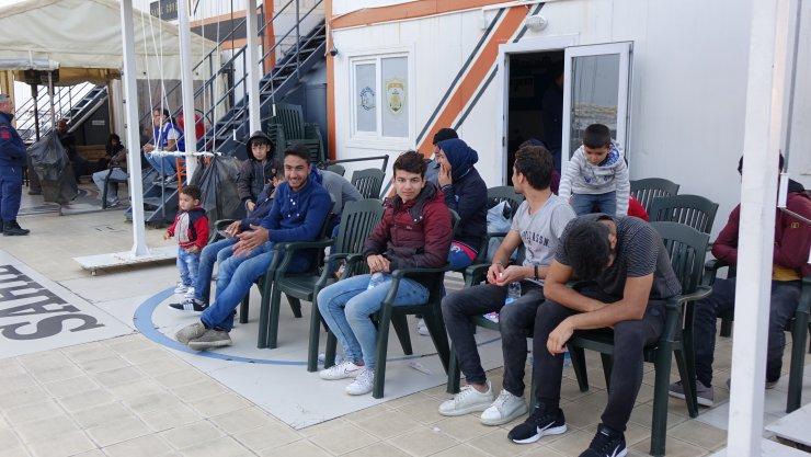 Çanakkale'de 46 düzensiz göçmen yakalandı