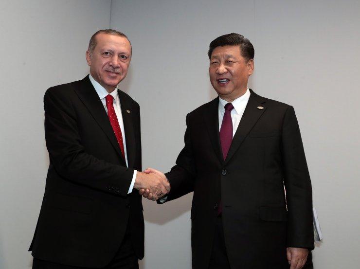 Cumhurbaşkanı Erdoğan G20'de