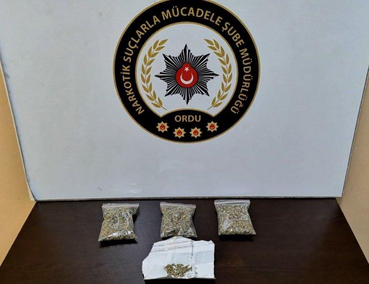 Ordu merkezli uyuşturucu operasyonunda 21 tutuklama