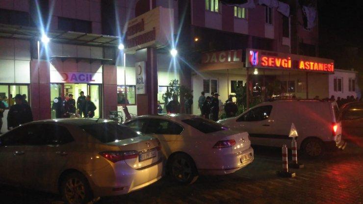 GÜNCELLEME - Osmaniye'de hastanede silahlı kavga : 4 yaralı