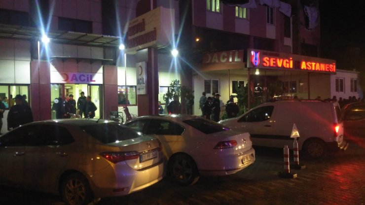 Osmaniye'de hastanede silahlı kavga : 4 yaralı