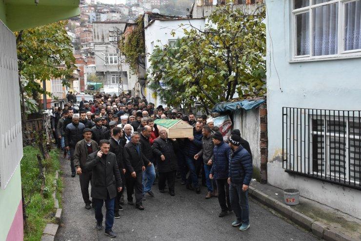 Viyadük kazasında ölen işçinin cenazesi defnedildi