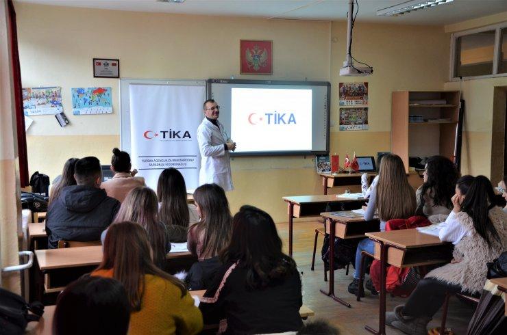 TİKA'dan Karadağ'a eğitim desteği