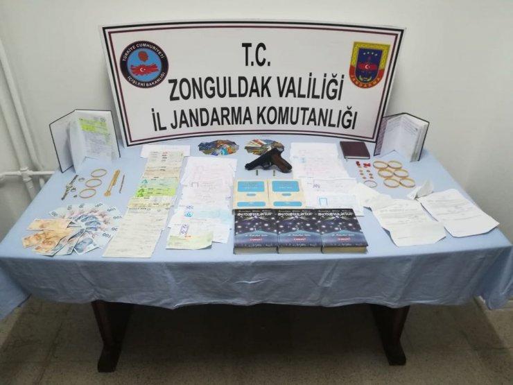 Zonguldak'taki tefecilik operasyonu