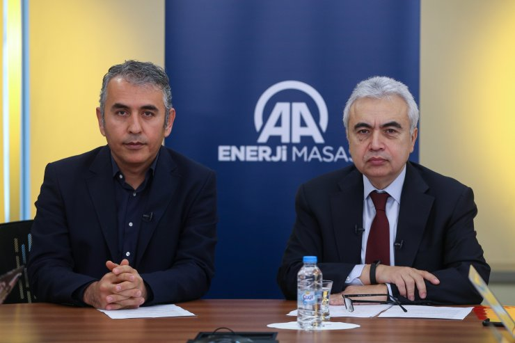 IEA Başkanı Fatih Birol, AA Enerji Masası'nda