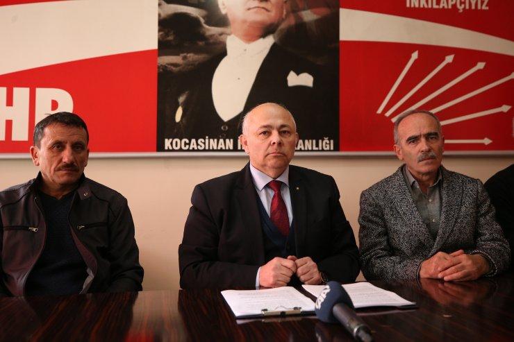 CHP meclis üyesi adayları adaylıktan çekildi