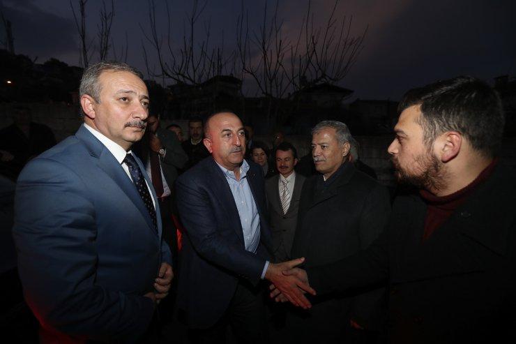 Dışişleri Bakanı Mevlüt Çavuşoğlu, Muğla'da