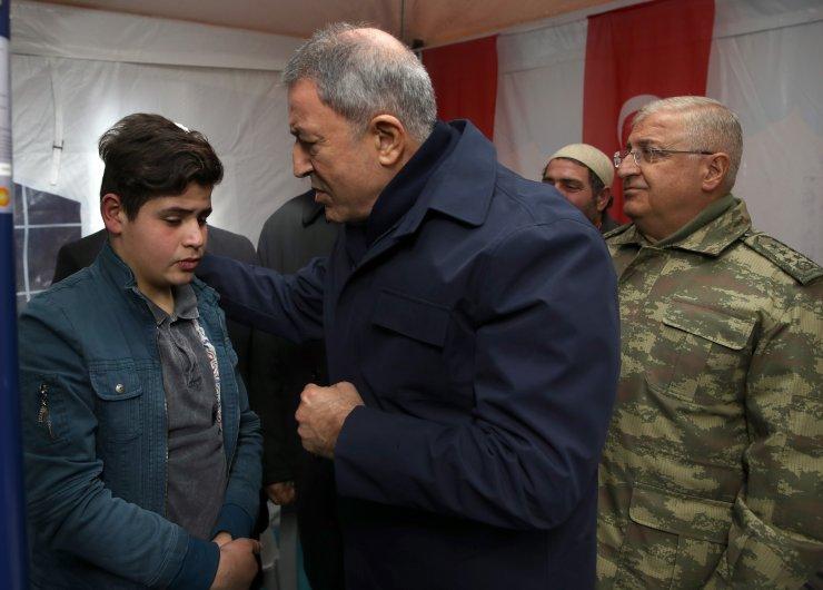 Bakan Akar ve Orgeneral Güler Erzurum'da