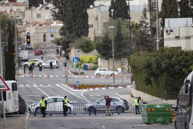 İsrail maratonunu protesto etmek isteyen Filistinlilere gözaltı