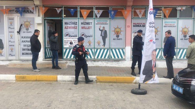AK Parti seçim bürosuna ateş açılması