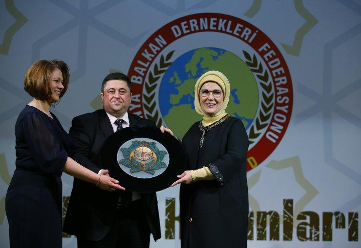 Emine Erdoğan, Balkan ve Rumeli kadınları ile buluştu