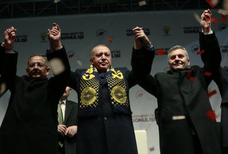 AK Parti'nin Çubuk mitingi