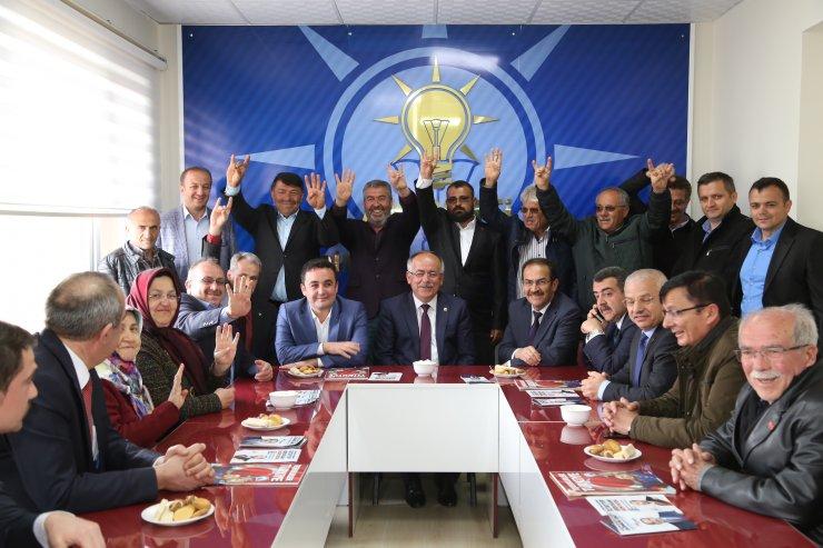 MHP'li Mustafa Kalaycı, Hadim'de destek istedi