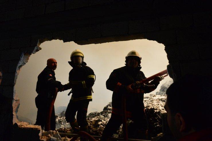 GÜNCELLEME - Şanlıurfa'da tekstil fabrikasında yangın