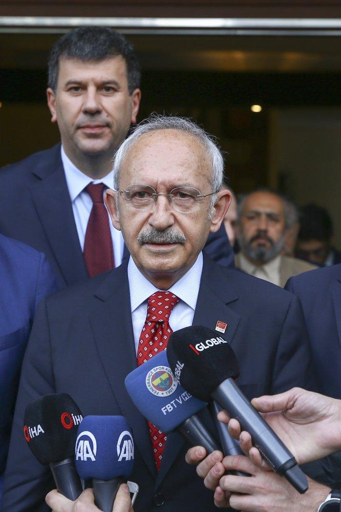 Kılıçdaroğlu'ndan Bartu ailesine taziye ziyareti