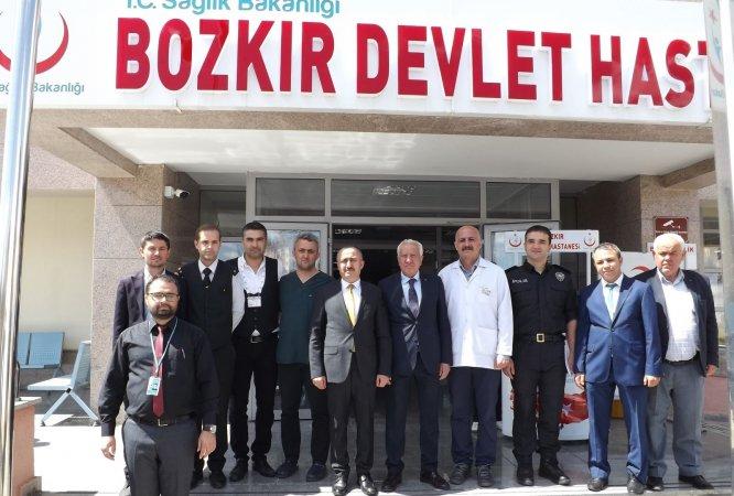 Bozkır Devlet Hastanesi'nde rekor kan bağışı
