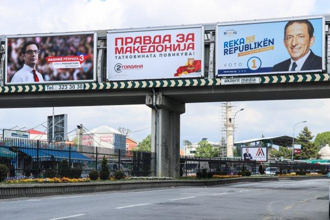 GRAFİKLİ - Kuzey Makedonya'da cumhurbaşkanlığı için üç aday yarışacak