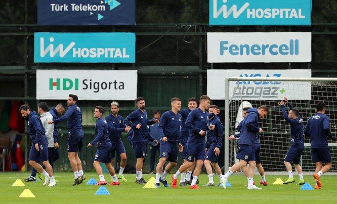 Fenerbahçe'de Trabzonspor maçı hazırlıkları