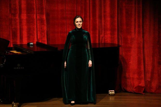 Nafset Chenib İstanbul'da konser verdi