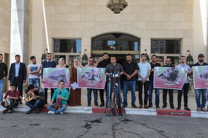 Filistinli sanatçılardan AB'ye