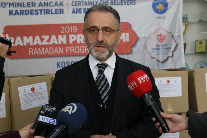 Türkiye'den Kosovalı ihtiyaç sahiplerine ramazan yardımı